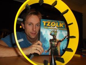 Hamsterrolle-hjulet viste å være en større utfordring enn Tzolk'in i dag