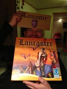 Ant var godt fornøyd med Lancaster