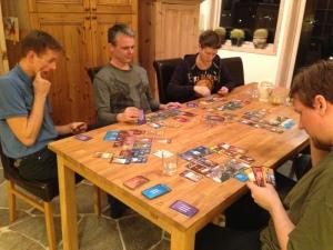 7 wonders krever ett stort bord!