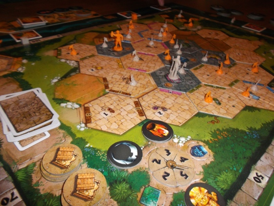 Tikal II: mange flott komponenter