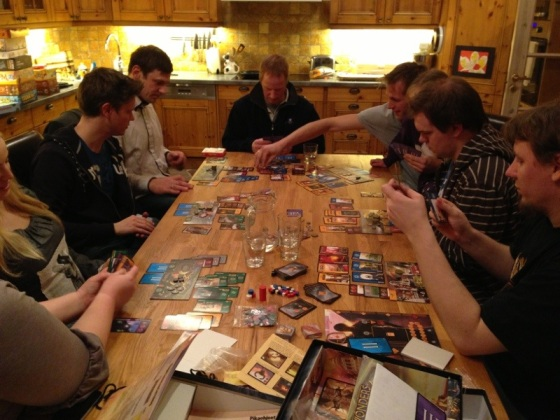 Masse aktivitet i 7 wonders