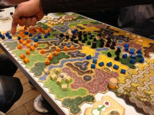 Bygg et abstrakt kongerike i Kingdom Builder