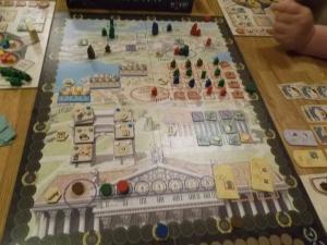 Det romerske rike blir bygget opp igjen.