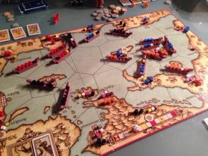 Flust med båter i Serenissima og ingen krig denne gang