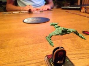 Klingonene liker ikke inntrengende føderasjonsskip