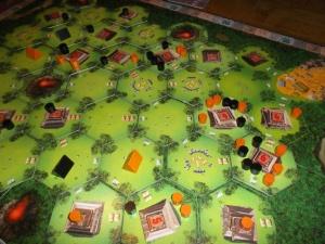 Oransj har inntatt kostbare templer