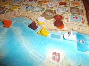 Macao; båtene er på vei