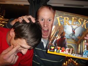 Sterke følelser i Fresco!