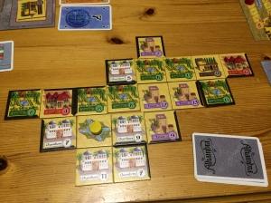 Like før spillets slutt, Takras sin Alhambra