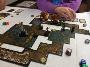 Scenario 2: Også rush, og heltene fokuserte altfor mye på zombie-slakting.