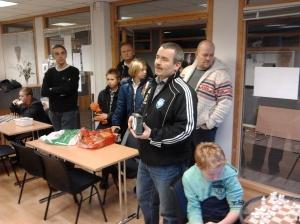 Kun ståplasser var igjen da NM-sølvvinner i Kafesjakk fortalte om sjakkens gleder:-)