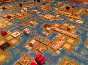 De fleste øyene er oppdaget og sivilisert når spillet nærmer seg slutten.