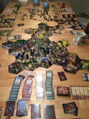 Du trenger masse bordplass for dette spillet.
