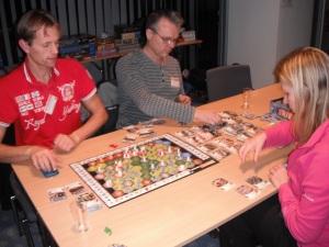 Hjelmevik satte ny personlig rekord i Trains når det gjelder spilletid. Det var alltid hennes tur:-)