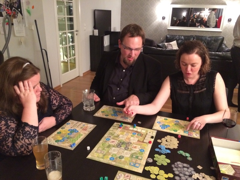 The castles of Burgundy med Marog i komfortsonen.