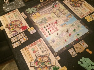 Game in progress: Trajan