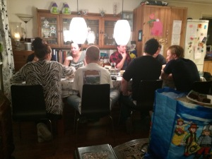 Hele 12 spillere og spilling på tre bord!
