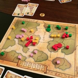 Imperium: ikke så vakkert, men derimot praktisk! Kan spilles på toget, fergen og flyplass.