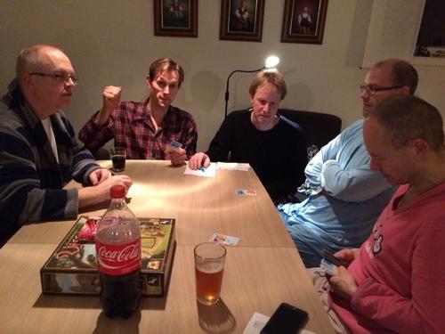 Svein og Hollender rakk en gjesteopptreden ved the City-bordet mens Saulius avsluttet Tenkum.