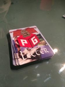 PG-latter med PG-letter!