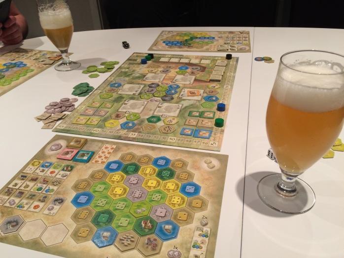 Burgen+Beer=good