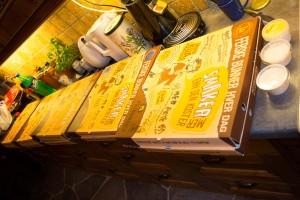 Galla eller Julebord: PG får pizza!