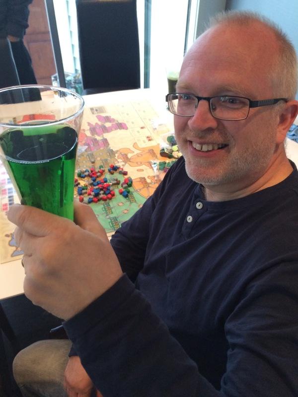 Grønt spill og grønt øl!
