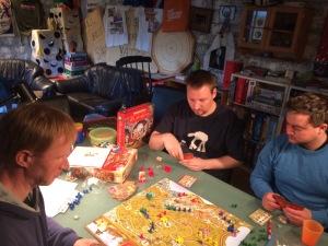 Konsentrasjon og frustrasjon i Via Romana