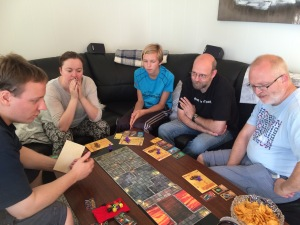 Dungeon Master forklarer spillet og forteller historien.