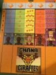 Ghana Giraffs gikk hardt ut og vant første sesong...