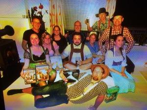 Festlig gjeng! Oktoberfest 2015