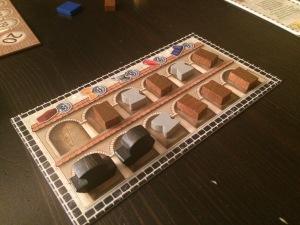Marogs samling halvveis i spillet.