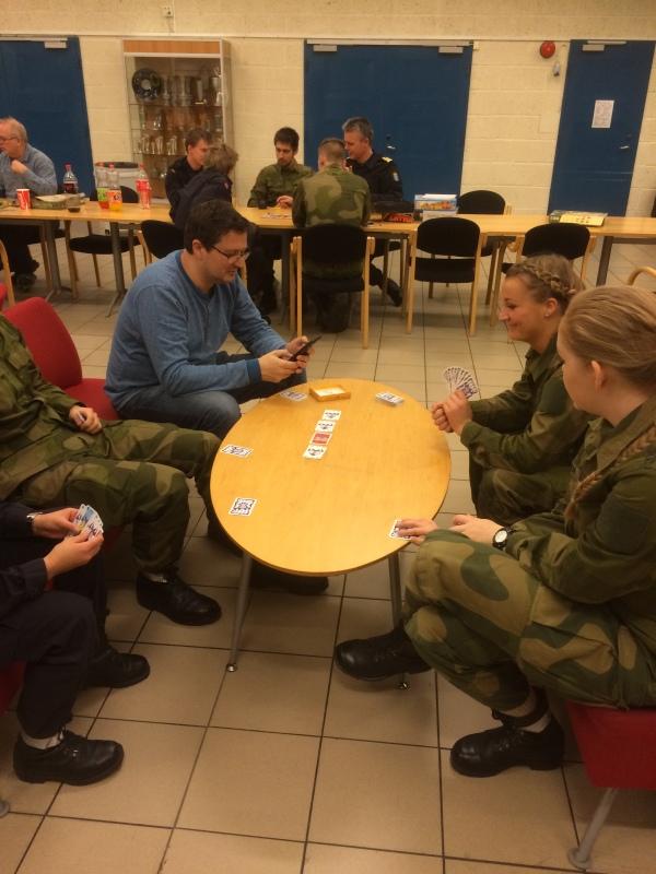 6 nimmt på Kjell Henrik og rekruttene hans.