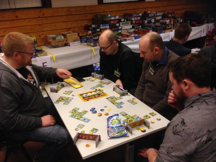 Det desidert dårligst likte spillet på MidWinter av de rundt bordet!!!