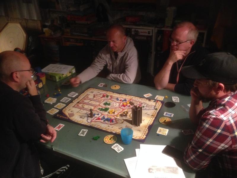 Fullt brett med 5 spillere - blir mange harde slag om regionene i Spania!