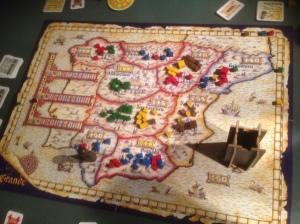Spanias regioner og Castillaen - tårnet, en flott ide for å krydre spillet!
