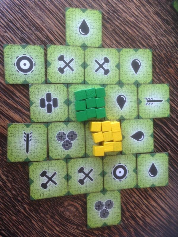 """Min baby og battle sheep inspirerte """"The Main Battle"""" 2 player utgaven."""