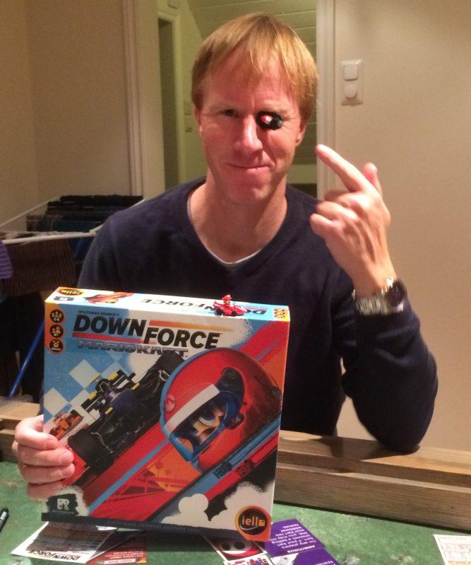 Downforce Mario Kart