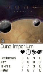 Dune Imperium rating